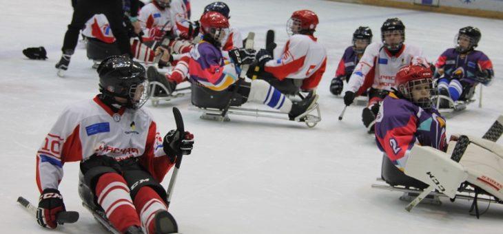 В столице Чувашии состоится первый товарищеский матч по следж-хоккею среди детских команд