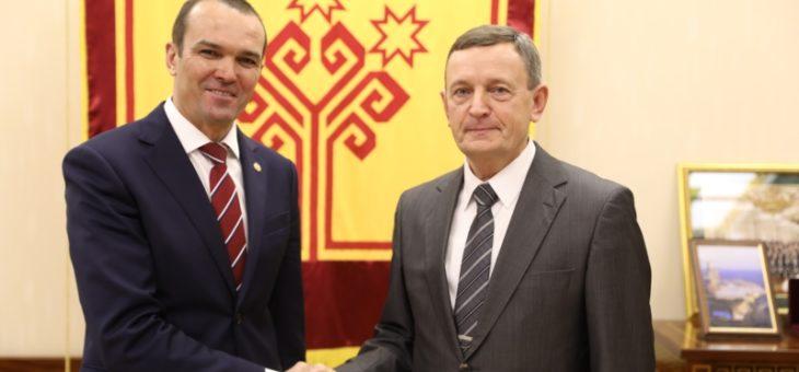 Указом Главы Чувашской Республики исполняющим обязанности министра физической культуры и спорта назначен Михаил Богаратов