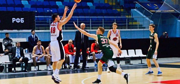 Волевые победы: баскетбольная команда «Чебоксарские ястребы» дважды обыграла «Локомотив-Кубань-ЦОП»