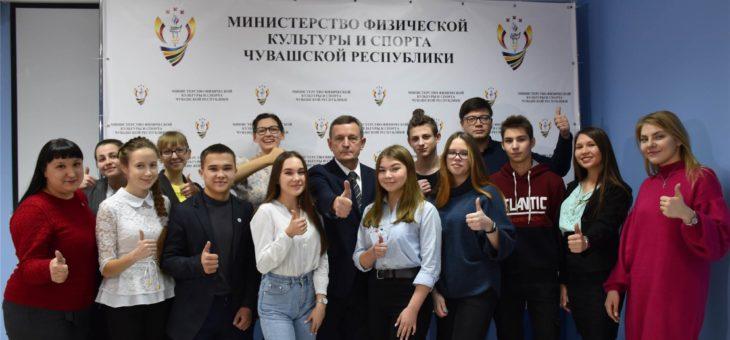 Состоялась встреча Михаила Богаратова со спортивными волонтерами