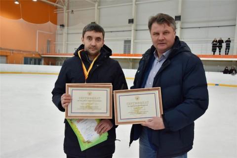 Поздравляем с днём рождения заместителя директора по ледовому дворцу Протаповича А.В.