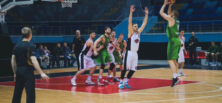 Чебоксарские Ястребы терпят поражение в первой игре против БК «Руна-Баскет» (г. Москва). 72:91