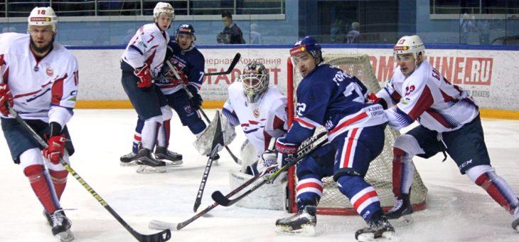 Хоккейный клуб «Чебоксары» провел первые полуфинальные матчи серии плей-офф
