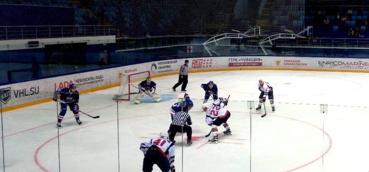 """ХК """"Чебоксары"""" начинает сезон с победы"""