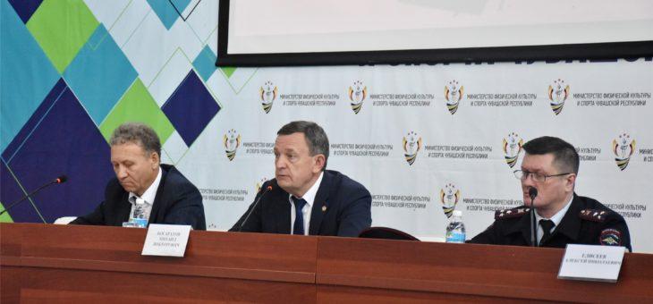 В столице Чувашии состоялась пресс-конференция, посвящённая предстоящему Всероссийскому дню бега «Кросс нации»