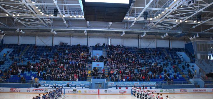 Первый четвертьфинальный матч Кубка Федерации завершился крупной победой хоккейной команды «Чебоксары»