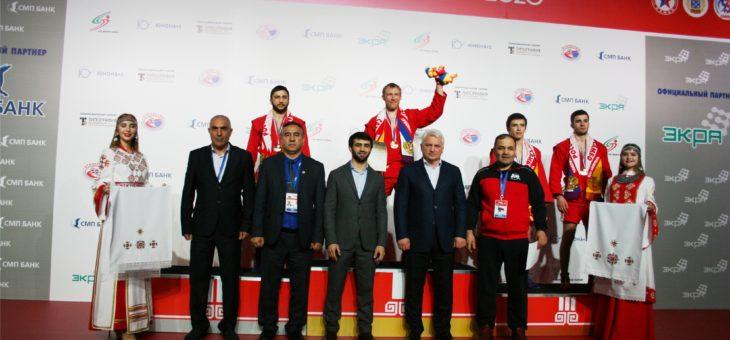 Президент Всероссийской федерации самбо Сергей Елисеев отметил высокий уровень организации и проведения чемпионата России по самбо в Чебоксарах