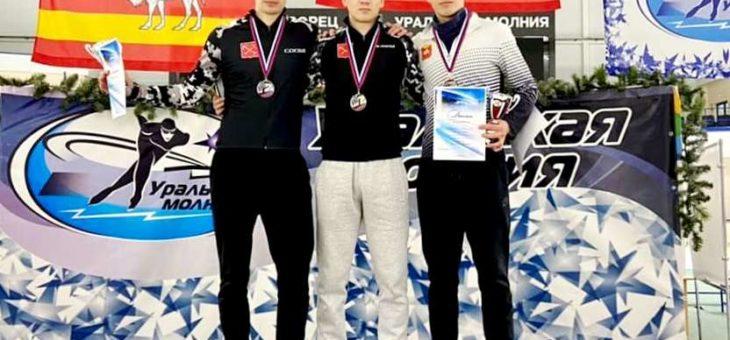 Тимур Карамов выиграл «золото» Кубка России по конькобежному спорту